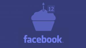 Facebook completa 12 anos em 2016